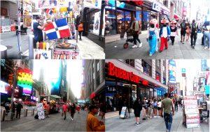 Bandera dominicana despunta en resurgimiento de Times Square