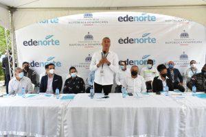 Edenorte comienza electrificación en la provincia Espaillat