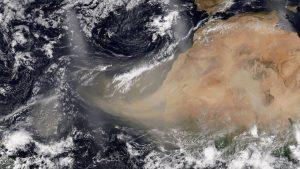 Florida alerta a los alérgicos por la llegada de tormenta de polvo del Sáhara