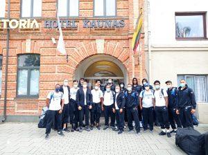 Selección basket RD arriba a Lituania para base entrenamientos previo Repechaje Olímpico
