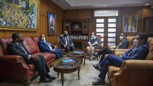 Procuradora Miriam Germán recibe visita del recién escogido Defensor del Pueblo