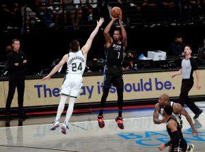 Durant muestra su grandeza y lleva a los Nets a una impresionante victoria ante los Bucks