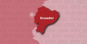 Sismo de magnitud 4,3 frente a las costas de Ecuador
