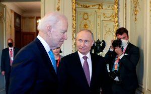 Termina la cumbre en Ginebra entre Biden y Putin