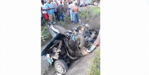 Fallece músico de Jarabacoa en accidente de tránsito en la Autopista Duarte