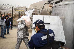 Perú hace su mayor quema de drogas con más de 30 toneladas incineradas