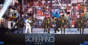 Audiencia de Premios Soberano 2021 baja a un 10.5%
