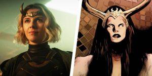 Lady Loki, la villana de la nueva serie de Disney+