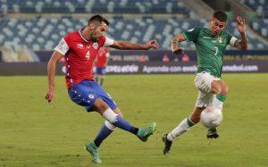 Gol de Benjamin Brereton da triunfo a Chile, que hunde a Bolivia en Copa América