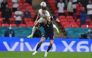 Inglaterra y Escocia, sin goles en partido de la Eurocopa