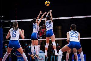 Voleibol RD triunfa 3-0 sobre Serbia; criollas luchan por ir a la semifinal en Liga de Naciones