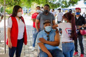 La DIDA apoya jornada de vacunación en San Juan de la Maguana
