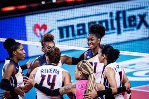Voleibol quedó  6to, a un puesto de clasificar;  venció 3-2 a Alemania y tuvo histórica marca 9-6