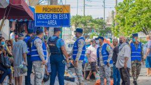 Alcaldía del Distrito Nacional realiza operativos de desocupación de espacios públicos
