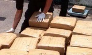Tres nicaragüenses detenidos y 2.341 paquetes de droga incautados en Panamá