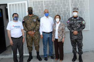 Gerente CNSS encabeza recorrido por centros de vacunación en SJM