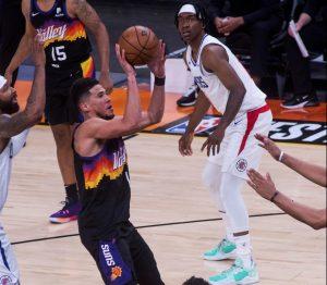 Suns derrotan a los Clippers con una exhibición de Devin Booker