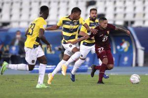 Ecuador y Venezuela empatan en la Copa América