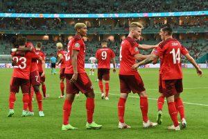 Eurocopa: Suiza compra billete a octavos tras derrotar 3-1 a Turquía