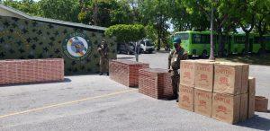 (VIDEO) Quinta Brigada del Ejército incauta dos cargamentos ilegales de cigarrillos