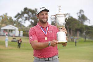 Golfista Jon Rahm gana el US Open