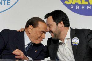 Berlusconi y Salvini negocian unirse para las elecciones de 2023