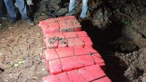 Autoridades salvadoreñas incautan 200 kilos de droga valorados en 5 millones
