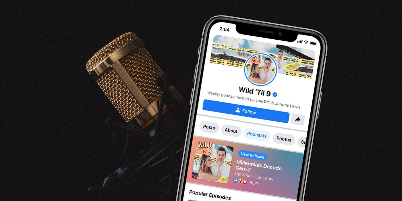 Facebook lanza pódcast y las salas de audio en vivo; servicio inspirado en  la red social Clubhouse