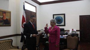 Costa Rica interrumpe nombramiento de embajadora en Nicaragua