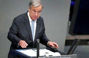 Argentina pide a Guterres interceda ante Reino Unido en tema Malvinas