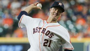 Greinke pasa a la lista de lesionados de los Astros