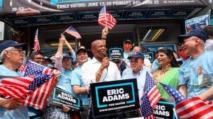 Eric Adams encabeza elecciones primarias demócratas a Alcaldía de Nueva York