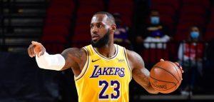 LeBron James organiza un campamento con la plantilla de los Lakers