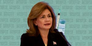 Raquel Peña dice cuatro millones de personas han recibido dos dosis de vacuna contra el covid