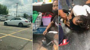 (VIDEO) Mujer usa redes sociales para encontrar su auto robado y golpea al ladrón