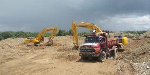 Realizan operativos en río Haina e incautan equipos por extracción de materiales sin permisos