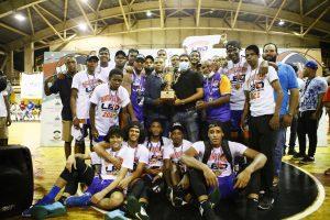 El Club Calero se proclama campeón del torneo basket superior Santo Domingo Este