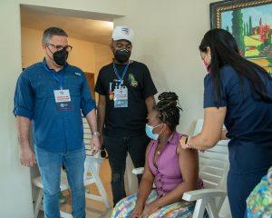 Autoridad Portuaria fortalece en San Cristóbal jornada de vacunación