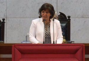 Presidenta del Senado de Chile anuncia su candidatura a las presidenciales