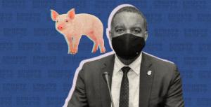 Senador Carlos Gómez aseguracarne de cerdo no representa riesgo a la salud