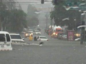 Lluvias en Panamá dejan un desaparecido y algunos poblados inundados