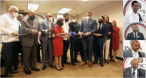 Con asistencia de ministros y altos funcionarios del Gobierno inauguran oficina del INDEX en consulado de NY