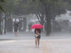 COE pone en alerta a cinco provincias a causa de las lluvias