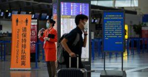 (VIDEO) Todos los vuelos en Shanghái cancelados por llegada del tifón In-fa a China