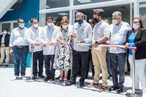 En Santiago, Abinader y directivos del INVI entregan Centro de Diagnóstico y Atención Primaria