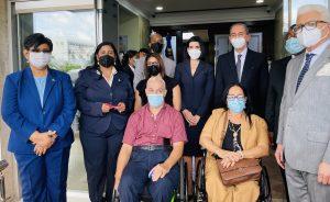 La primera dama y el ministro García Fermín fomentan inclusión de personas con discapacidad
