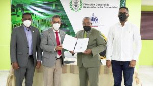 ITSC y DGDC formalizan alianza para capacitación técnica de residentes en sectores vulnerables