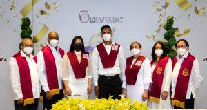 UNEV realiza graduación virtual con 1,289 profesionales