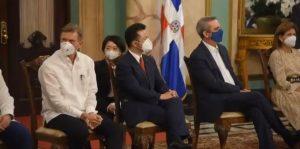 Presidente Abinader encabeza acto 65 aniversario de llegada inmigrantes japoneses a RD