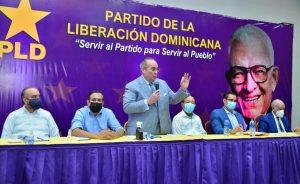 PLD ratifica a Gustavo Sánchez como vocero en la Cámara de Diputados